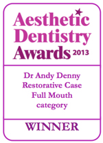 Aesthetic Dentistry Awards 2013 - WINNER